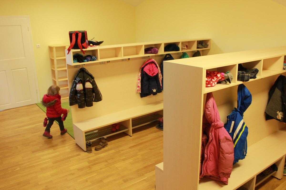 Kindergarten for Garderobe kindergarten
